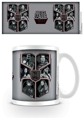 Justice League Movie - Character Shield Mug
