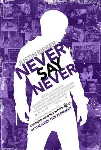 Justin Bieber: Never Say Never Affiche originale