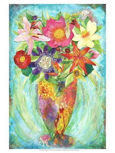Grandes Flower Reproduction giclée Premium