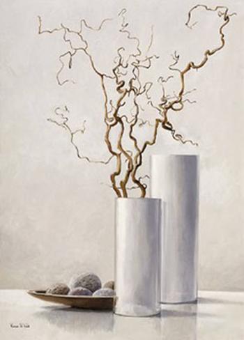 Branche de cerisier japonais ii poster par karin valk sur - Branche de cerisier japonais ...