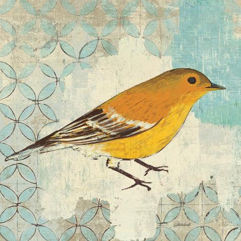 Pine Warbler Reproduction d'art