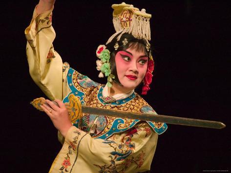 Peking opera performance beijing china reproduction - Maison familiale design a beijing en china par arch studio ...