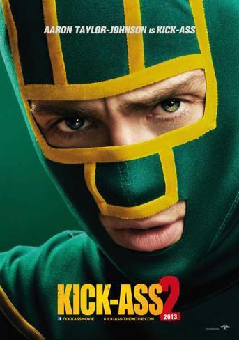 Kick-Ass 2 (Aaron Taylor-Johnson, Chloe Grace Moretz) Movie Poster Poster
