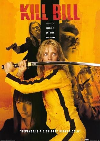 Kill Bill Vol. 1 Affiche originale