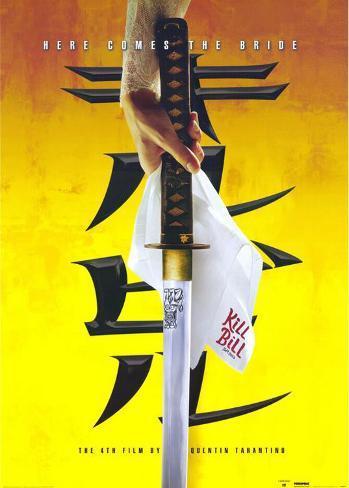 Kill Bill Vol. 1 Affiche originale