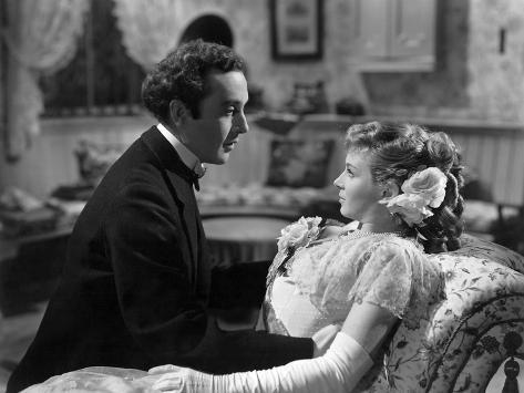 Kind Hearts And Coronets, Dennis Price, Joan Greenwood, 1949 Photographie