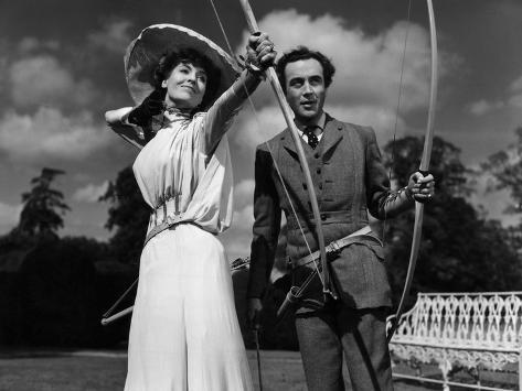 Kind Hearts And Coronets, Valerie Hobson, Dennis Price, 1949 Photographie