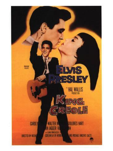 King Creole, 1958 Reproduction d'art