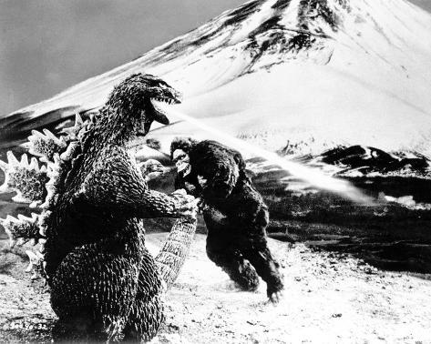 King Kong vs. Godzilla Photographie