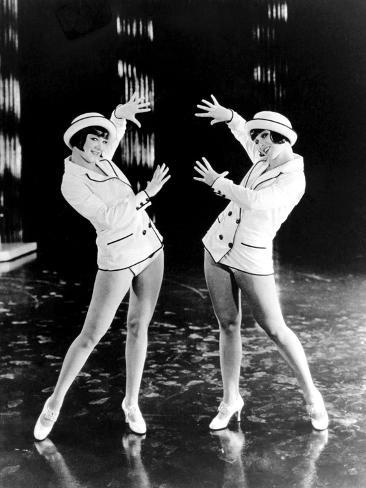 King Of Jazz, Eleanor Gutchrlein, Karla Gutchrlein (Sisters G), 1930 Photographie