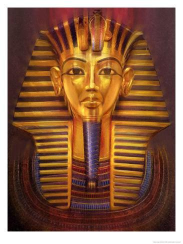 King Tut Reproduction d'art