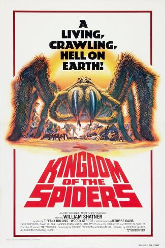 Kingdom of the Spiders, US poster, 1977 Reproduction d'art