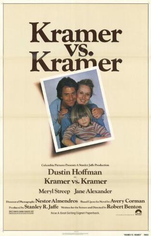 Kramer vs Kramer Affiche originale