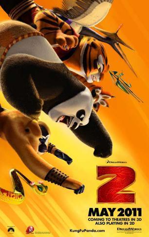 Kung Fu Panda 2 Affiche originale