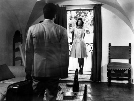 L'Avventura, Gabriele Ferzetti, Lea Massari, 1960 Photographie