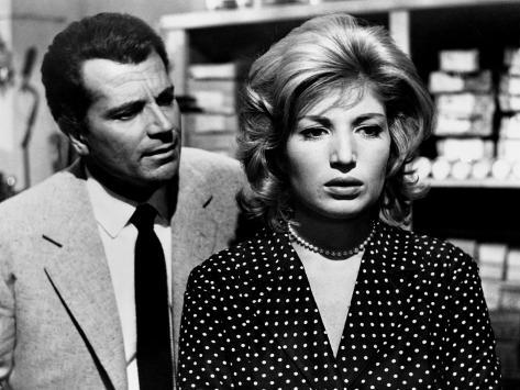 L'Avventura, Gabriele Ferzetti, Monica Vitti, 1960 Photographie