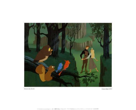 La Belle au bois dormant Reproduction d'art