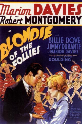 La Blonde des Folies-Bergères Affiche originale