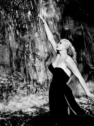 La Dolce Vita, Anita Ekberg, 1960 Photographie