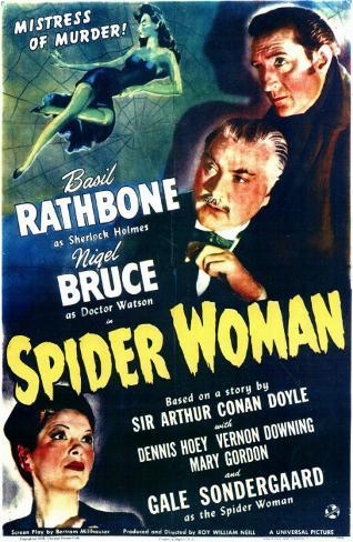 La Femme-araignée Affiche originale