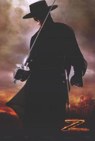 La légende de Zorro Affiche originale