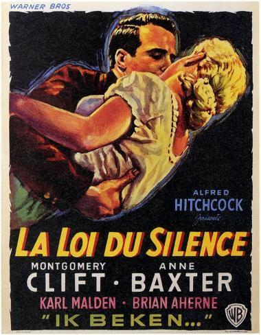 La Loi du silence Affiche originale
