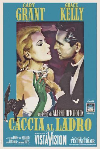 La Main au collet Poster