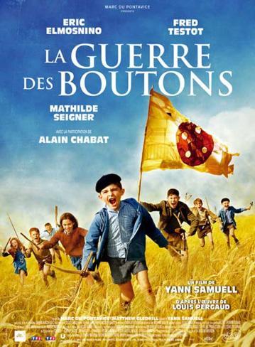 La nouvelle guerre des boutons de Christophe Barratier - Affiche du film Affiche originale