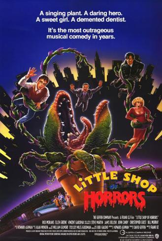 La Petite Boutique des horreurs Poster