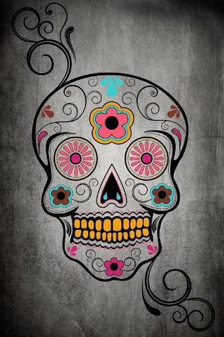Sugar Skull Reproduction d'art
