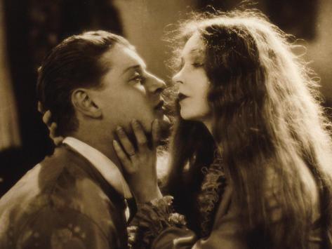 Lars Hanson et Lillian Gish : Le Vent, 1928 Reproduction photographique