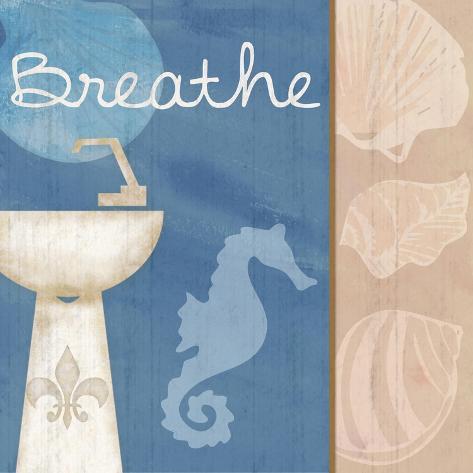 Breathe Sink Reproduction d'art