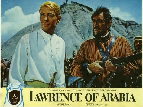 Lawrence of Arabia, 1963 Reproduction d'art