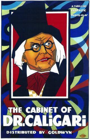 Le Cabinet du docteur Caligari Affiche originale
