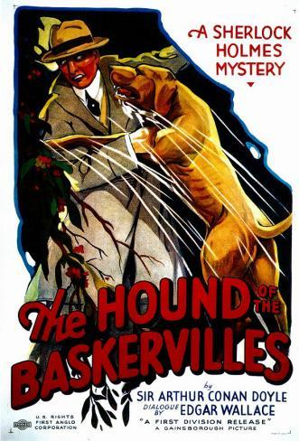 Le chien des Baskervilles Affiche originale