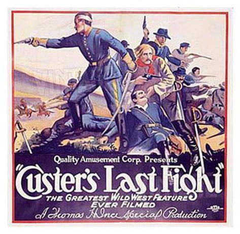 Le dernier combat de Custer Reproduction procédé giclée