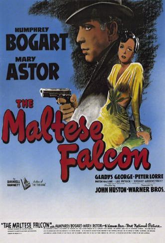 Le faucon maltais Affiche originale