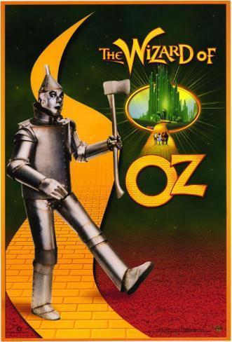 Le Magicien d'Oz Affiche originale