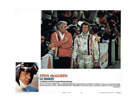 Le Mans, Steve Mcqueen, 1971 Reproduction procédé giclée