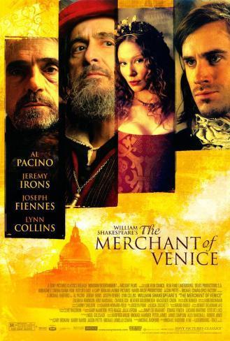 Le marchand de Venise Poster