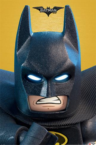 Lego Batman- Close Up Poster