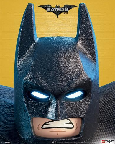 Lego Batman- Close Up Mini-affiche