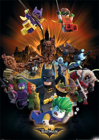 Lego Batman- Heroes And Villians Affiche géante