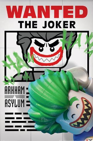 Lego Batman- Wanted! The Joker Poster