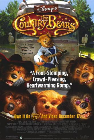 Les Country Bears Poster