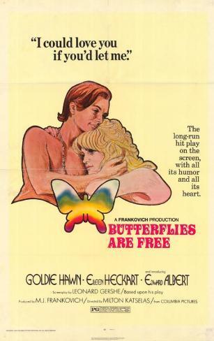 Les papillons sont libres Affiche originale