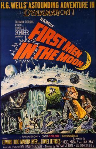 Les Premiers Hommes dans la Lune Affiche originale