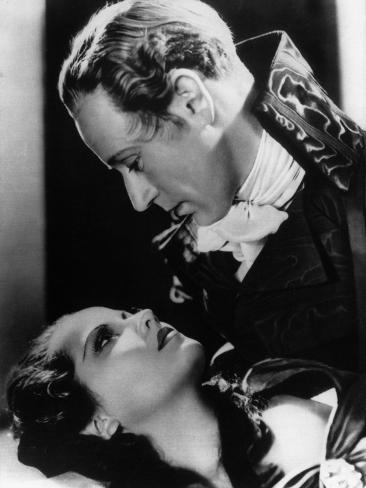 Leslie Howard et Merle Oberon : The Scarlet Pimpernel, 1934 Reproduction photographique