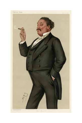 Edmund Hodgson Yates Reproduction procédé giclée