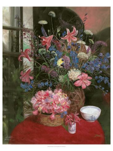 Floral Still Life I Reproduction d'art